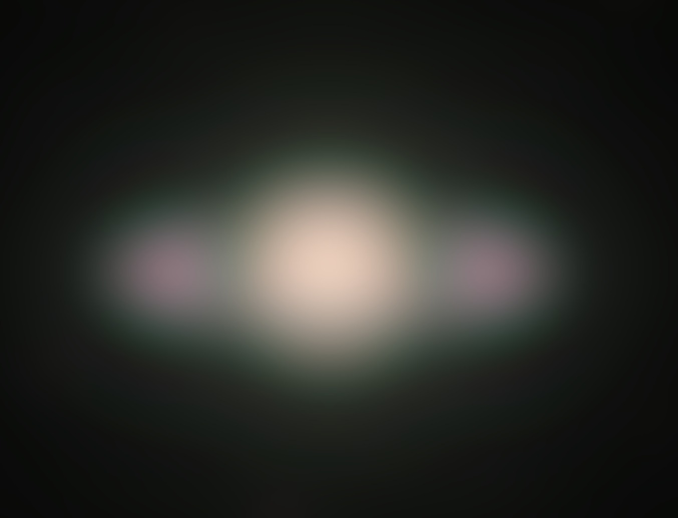 An approximation of what Galileo would have seen in 1610. http://www.astromatic.net/2009/05/23/see-saturn-as-galileo-did